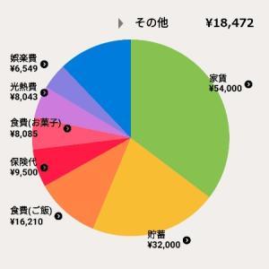 2021年6月家計簿【一人暮らし】