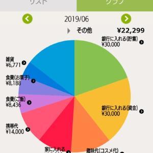 2019年6月家計簿