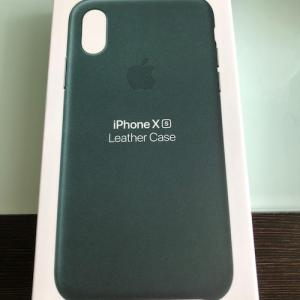 iPhone X用にiPhone XS純正ケースを買ってみた