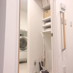 【付けてよかった!】洗面所の自在棚収納