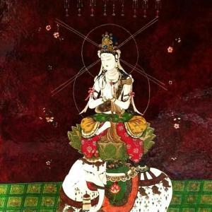 普賢菩薩像。。完成。。