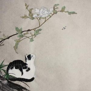 猫と。。薔薇と。。絵と。。(●´ω`●)
