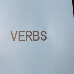 富田先生のVerbsが届いた