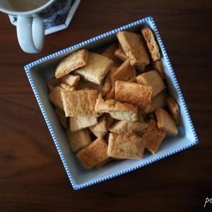 クッキーとアイスカフェラテ