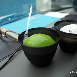 【カフェ】ななや 抹茶アイスと大納言(気に入って2回目!)