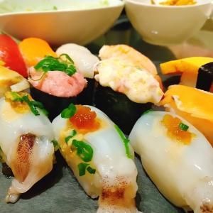 お寿司食べる