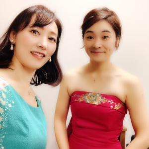 ヴァイオリンとピアノのミニコンサートしてきました