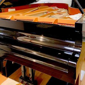 ピアノが調律なので