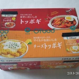 コストコ新発売【デサン(大象)カップトッポギ】お湯だけで簡単調理