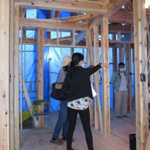 構造見学会・大工の仕事を見るべし