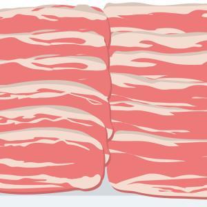 豚バラ肉を炒めている途中で嫁「炒めるの代わって!」→俺が炒めていたら…なんかさ、糸引いてるんだよね肉同士がw