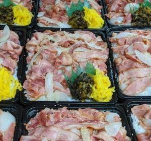 キッチンDIVE「はい大盛りデカ盛り1キロベーコン丼(ドーン!)」
