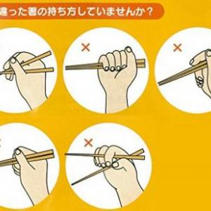 NHK「お箸の『正しい持ち方』は差別につながる、間違っていても個性だよ」