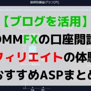 【セルフバック】DMMFXの口座開設の体験談(ブログの自己アフィリエイト)