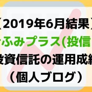【6月は微増】ひふみプラス(投信)の推移結果(そろそろ判断?)