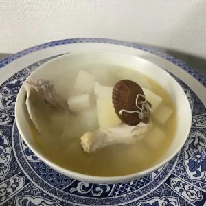🇯🇵 帆立と鶏肉の中華スープ