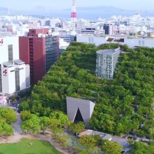 【福岡】「数十年後に森になる」計画で作られたビルが話題 完成から25年...その現状は?