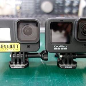 GoPro8と9の比較