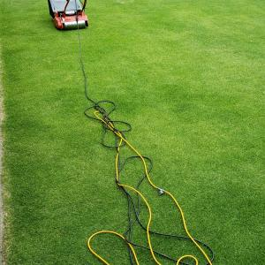 スミチオン散布と芝刈り(6回目)