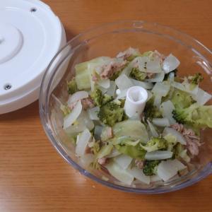 【ぶんぶんレシピ】ツナサラダ