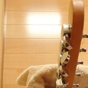 1X4吊り下げギタースタンド自作【No3上半身:ハンガー部分】
