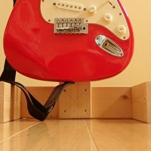 1X4吊り下げギタースタンド自作【No4下半身:土台部分】
