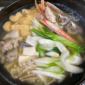 ヤマセで肌寒いから今夜ごはんは、ちゃんこ鍋です。