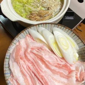 各自お一人様鍋です。三太郎用夜ごはん♡