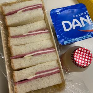 三太郎はハムチーズサンドです♡
