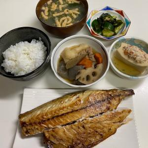 2021/09/27ウチの夜ごはん☆和食です♡