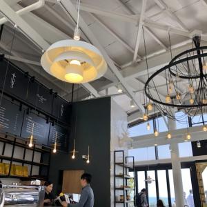 ヒルトン釜山☆プロムナードのカフェ