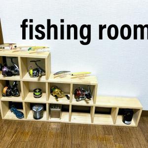 賃貸DIYで釣り部屋計画~2×4木材で柱と棚を作る~