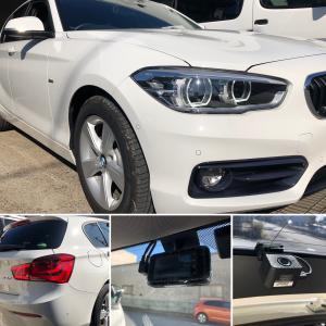 BMW1シリーズ、ドラレコ取付!東大阪市、大東市、生駒市、奈良市、輸入車修理、外車修理