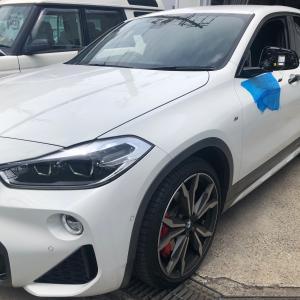 BMW X2シーケンシャルウィンカー取替!大阪府、奈良県、京都府、兵庫県、BMW修理