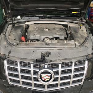 キャデラックCTSエンジンチェックランプ点灯!大阪府、奈良県、兵庫県、京都府、キャデラック修理