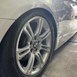 BMW5シリーズ(F11)車高が下がる修理!大阪府、奈良県、京都府、兵庫県、エアサス修理
