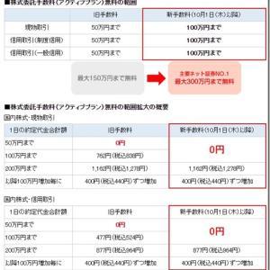 【朗報】SBI証券が取引手数料無料化促進へ!2020年10月1日から無料枠増加!!