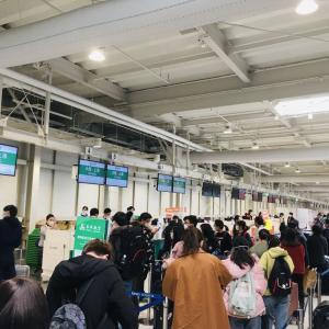 日本から上海に戻りました。 戻ってからの様々な不安要素について
