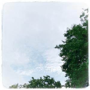 青空だった日