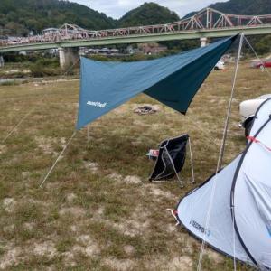 初キャンプ実践(笠置)