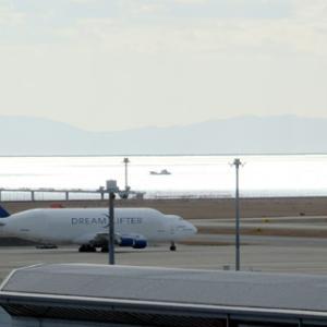 中部国際空港セントレア☆飛行機と冬のイルミネーション