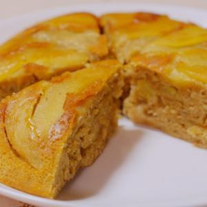 りんごと紅茶のホットケーキでほっこり休日