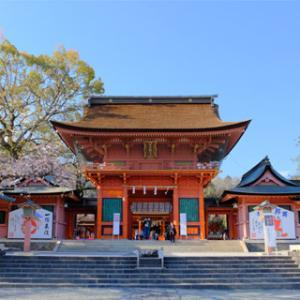 富士山と桜を求めて(3)ツアーラストは富士山本宮浅間大社