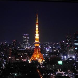 午前0時の東京タワー