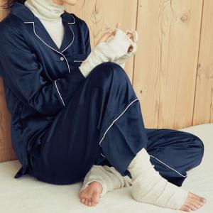パジャマに最適!首、手首、足首までカバーできる肌に優しいインナーセット