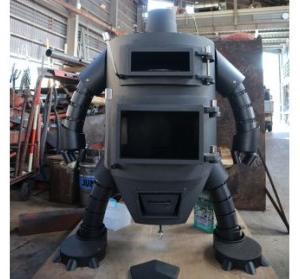 ふるさと納税 ロボット型薪ストーブ