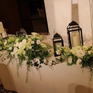 Cours de fleurs de mariage〜マリアージュコース