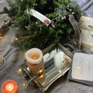 クリスマスからお正月へのリース
