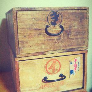 家庭の常備薬 レトロな薬箱