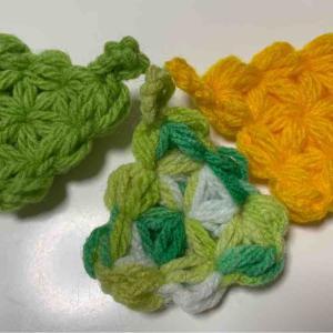 三角リフ編みミニクリーナー